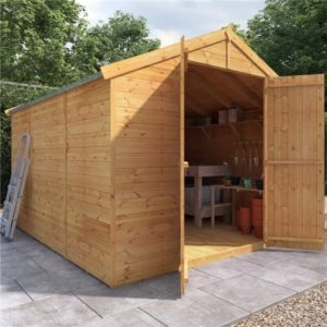 10x8 Master T&G Apex Wooden Shed - Windowless BillyOh