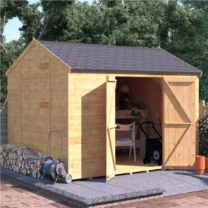 10x8 T&G Shed - BillyOh Expert Reverse Workshop Windowless