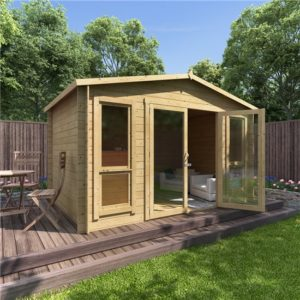 12 x 8 BillyOh Sasha Log Cabin Summerhouse - 19mm