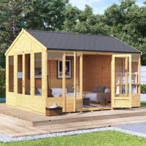 12x10 Tessa T&G Reverse Apex Summerhouse - BillyOh