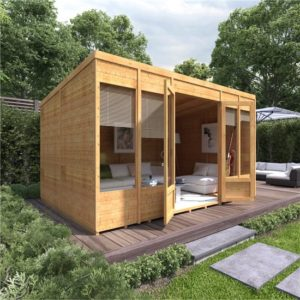 12x8 Bella T&G Pent Summerhouse - BillyOh