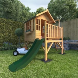4x4 Bunny Max Tower Playhouse with Slide - 2020 BillyOh