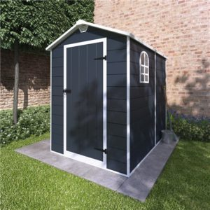 4x6 Ashford Plastic Garden Storage Shed - BillyOh