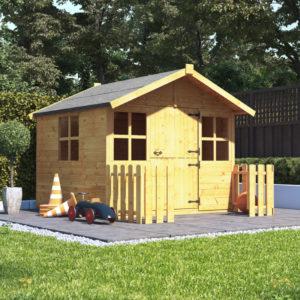 5x5 Junior Wooden Playhouse - BillyOh