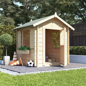 BillyOh Child''s Log Cabin Wooden Playhouse