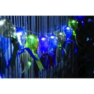 Bright Garden 10 String Balloon Solar Lights