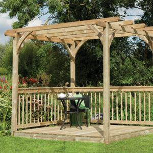 Forest Garden Ultima Pergola Deck Kit 2.4 x 2.4m
