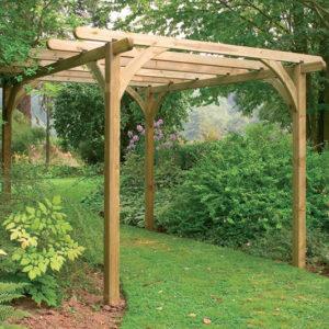 Forest Garden Ultima Pergola Kit 2.7 x 2.7m