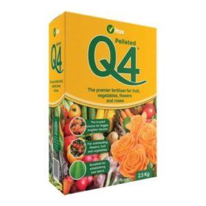 Q4 Pelleted Fertiliser 2.5kg