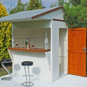 Shire Garden Bar & Storage Shed