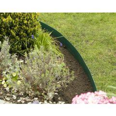 10m Smartedge Flexible Lawn Edging - Green - H14cm