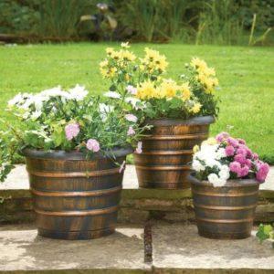 Beehive Garden Planters 3 Pack