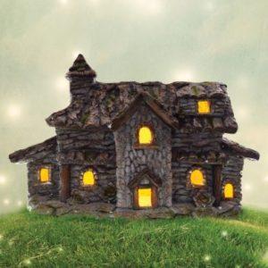 Bright Garden Solar Fairy Cottage Decorative Light