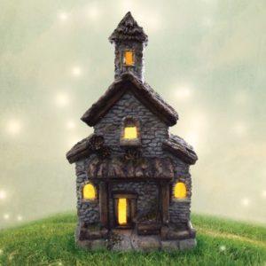Bright Garden Solar Fairy House Decorative Light