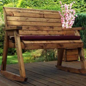 Charles Taylor 2 Seat Rocker Garden Bench