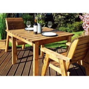 Charles Taylor 2 Seat Square Garden Table Set