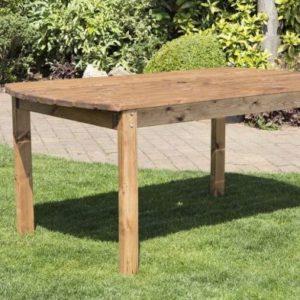 Charles Taylor 6 Seat Rectangular Garden Table