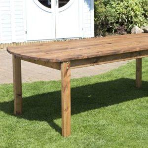 Charles Taylor 8 Seat Deluxe Rectangular Garden Table