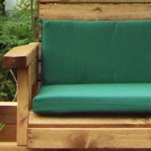 Charles Taylor Rocker Garden Chair - Green Cushions