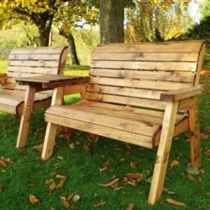 Charles Taylor Tete-a-tete 4 Seat Garden Bench