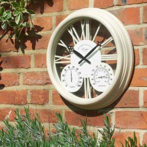 Cream Clock