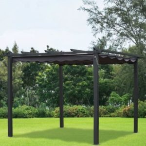 Croft Pergola Replacement Cover Charcoal