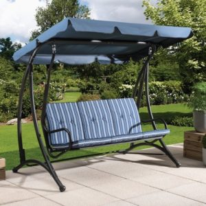 Fraser 3 Seater Garden Swing Chair