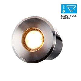 Large Stainless Steel Deck Light
