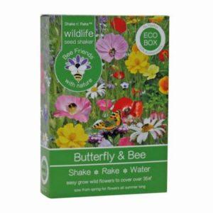 Butterfly & Bee Seed Shaker Box