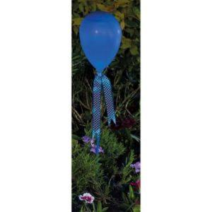 Bright Garden Balloon Stake Solar Light - Blue
