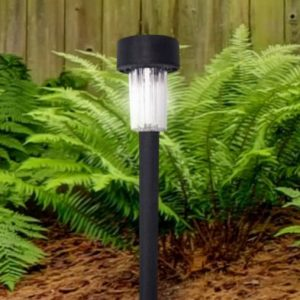 Bright Garden Plastic Solar Light