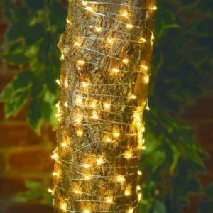Bright Garden Solar Firefly Lights - 100 Pack