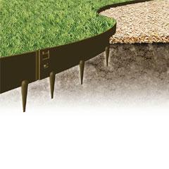 5m Everedge Classic Lawn Edging - H10cm