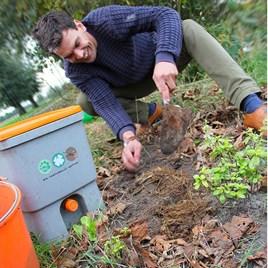 Bokashi Kitchen Waste Composting Kit - 2 Buckets, Container and 1kg Bran