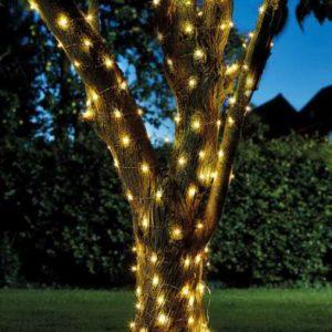 Bright Garden Solar Firefly 100 LED String Of Lights