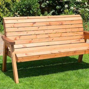Charles Taylor Garden Bench 3 Seats