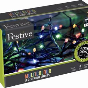 1000 LED Multicolour String Christmas Tree Outdoor Lights