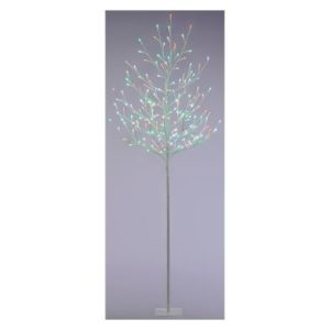 120 LED Jolly Holly Twig Outdoor Christmas Tree Red & Green 10m