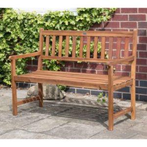 Charles Bentley FSC Acacia Hardwood 2-3 Seater Garden Bench