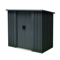 Feider Metal Garden Legacy Pent Storage Shed 1.3 m² - One side...