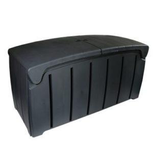 Bentley Plastic Garden Storage Box Black 322L