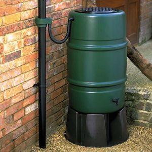 Child Safe Water Butt, Rain Trap & Stand